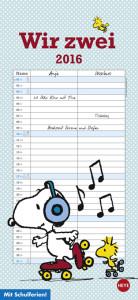 Snoopy Planer für zwei