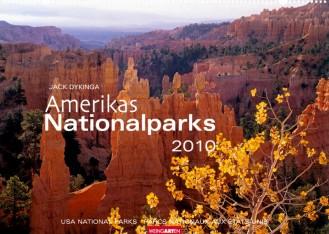 "Weingarten Kalender ""Amerikas Nationalparks 2010"", Cover"
