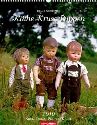 """Weingarten Kalender """"Käthe Kruse Puppen 2010"""", Cover"""