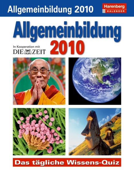 Harenberg Allgemeinbildung 2010, Cover