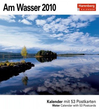 """Harenberg Kalender """"Am Wasser 2010"""", Cover"""