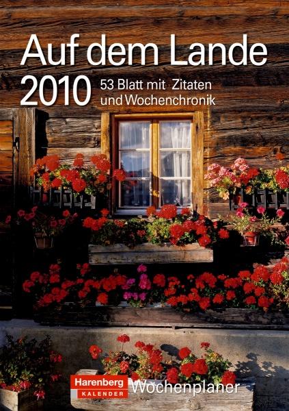 """Harenberg Wochenplaner """"Auf dem Lande 2010"""", Cover"""