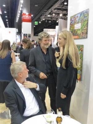 Harald Longo, Druckerei Longo/Bozen, Reinhold Messner, Ute Edda Hammer