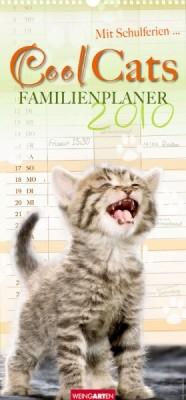 Weingarten Familienplaner Cool Cats 2010