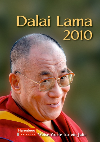 Harenberg Wochenkalender Dalai Lama 2010, Cover