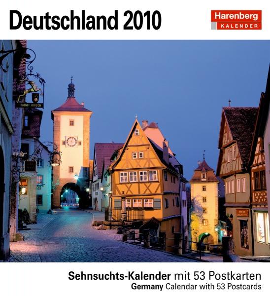 Harenberg Sehnsuchtskalender Deutschland 2010, Cover