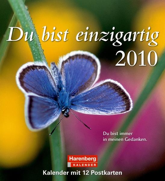 Harenberg Lieblingspostkarten-Kalender Du bist einzigartig 2010
