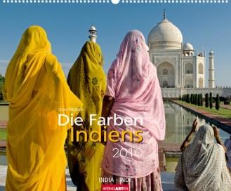 """Weingarten Kalender """"Die Farben Indiens 2010"""""""