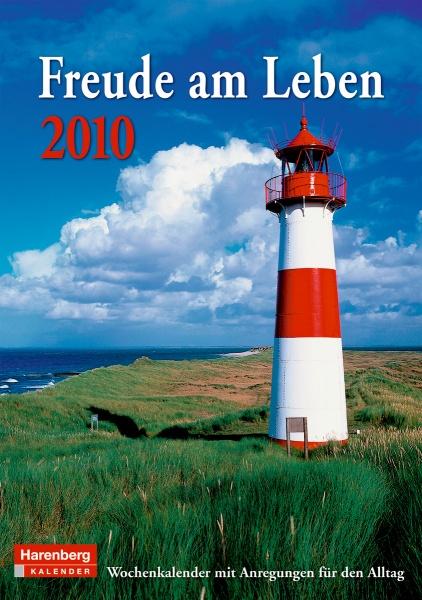 "Harenberg Wochenkalender ""Freude am Leben 2010"", Cover"