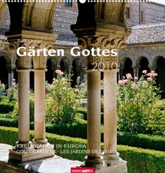 """Weingarten Kalender """"Gärten Gottes 2010"""", Cover"""