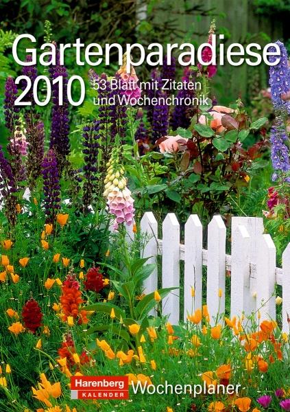 """Harenberg Wochenplaner """"Gartenparadiese 2010"""""""