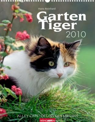 "Weingarten Kalender ""Gartentiger 2010"", Cover"