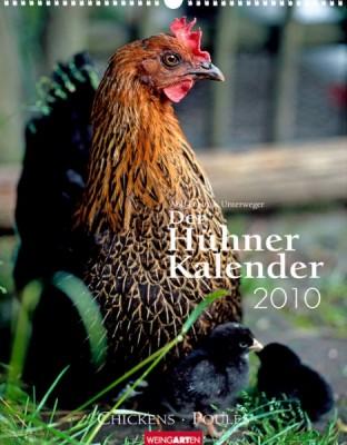 "Weingarten ""Hühner Kalender 2010"", Cover"