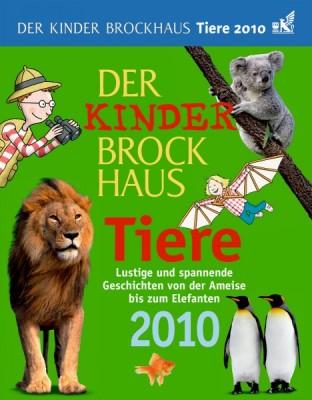 Kalender Der Kinder Brockhaus Tiere 2010, Cover