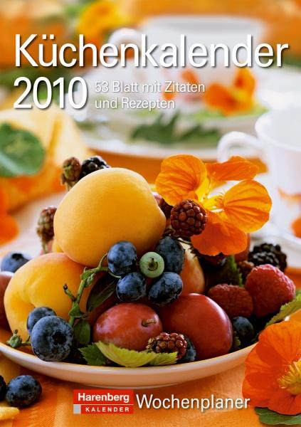 Harenberg Wochenplaner Küche 2010, Cover