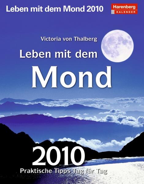 "Harenberg Praxiskalender ""Leben mit dem Mond 2010"", Cover"