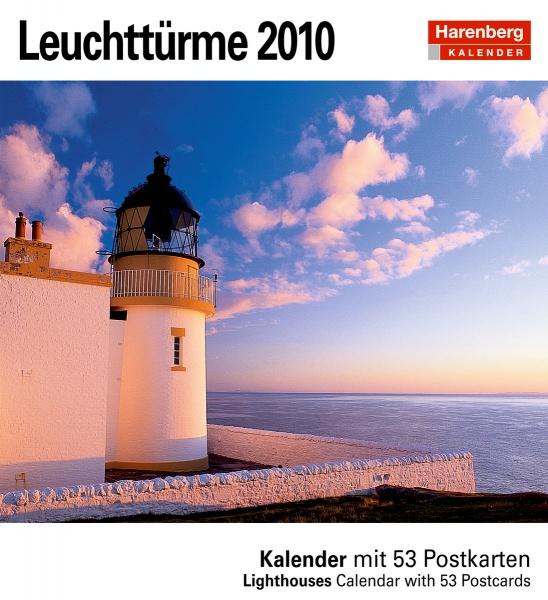 Harenberg Postkartenkalender Leuchttürme 2010, Cover