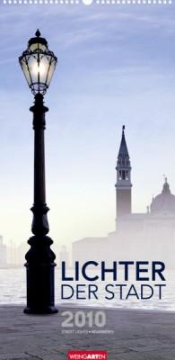 """Weingarten Kalender """"Lichter der Stadt 2010"""", Cover"""