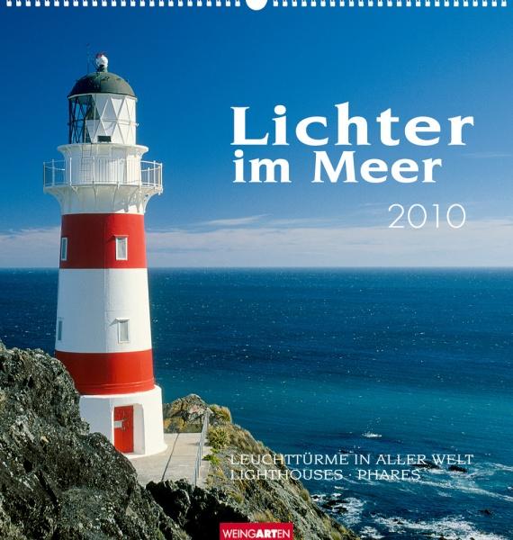 Weingarten Lichter im Meer 2010, Cover