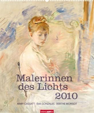"""Weingarten Kalender """"Malerinnen des Lichts 2010"""", Cover"""