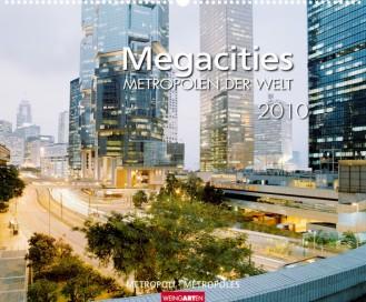 """Weingarten Kalender """"Megacities 2010"""", Cover"""