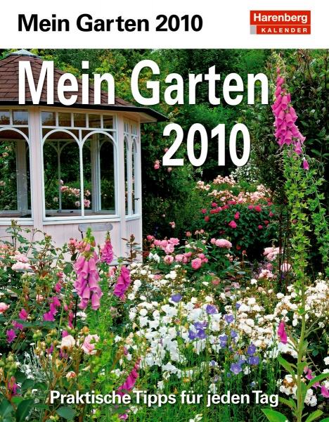 "Harenberg Praxiskalender ""Mein Garten 2010"", Cover"