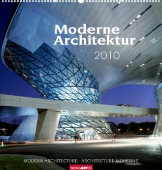 """Weingarten Kalender """"Moderne Architektur 2010"""", Cover"""