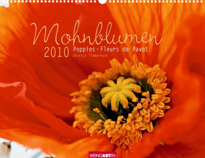 """Weingarten """"Mohnblumen 2010"""", Titelseite"""