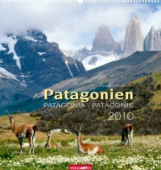 "Weingarten Kalender ""Patagonien 2010"", Cover"
