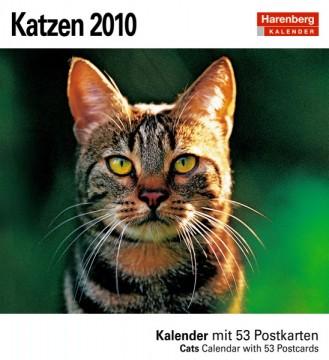 "Harenberg Postkartenkalender ""Katzen 2010"", Cover"