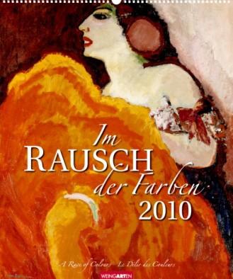 """Weingarten Kalender """"Im Rausch der Farben 2010"""", Cover"""