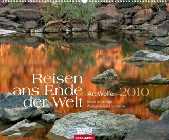 """Weingarten """"Reisen ans Ende der Welt 2010"""", Cover"""