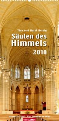 """Weingarten Kalender """"Säulen des Himmels 2010"""", Cover"""