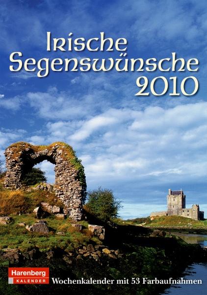 """Harenberg Wochenkalender """"Irische Segenswünsche 2010"""", Cover"""