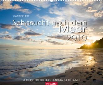 """Weingarten Kalender """"Sehnsucht nach dem Meer 2010"""", Cover"""