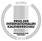 Preis der Internationalen Kalenderschau 2010, Logo Silber