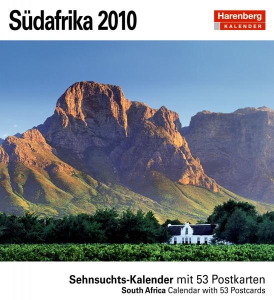 """Harenberg Sehnsuchtskalender """"Südafrika 2010"""", Cover"""