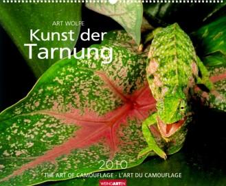 """Weingarten Kalender """"Die Kunst der Tarnung 2010"""", Cover"""