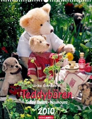 """Weingarten Kalender """"Teddybären 2010"""", Cover"""