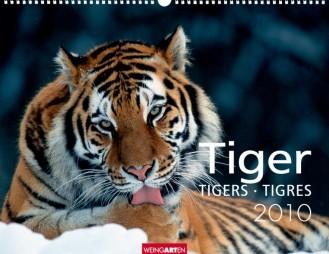 """Weingarten Kalender """"Tiger 2010"""", Cover"""