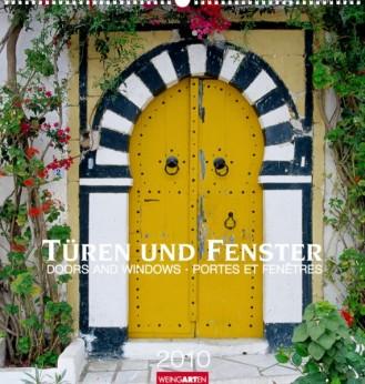 """Weingarten Kalender """"Türen und Fenster 2010"""", Cover"""
