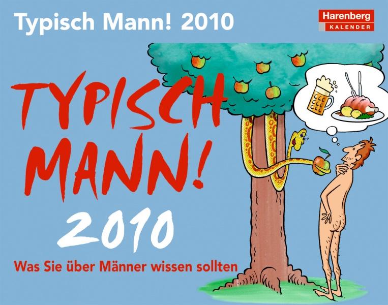 """Harenberg Humorkalender """"Typisch Mann 2010"""""""