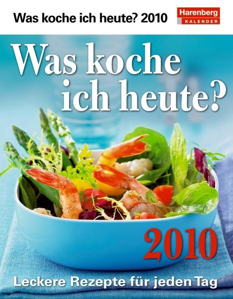 "Harenberg Praxiskalender ""Was koche ich heute? 2010"", Cover"