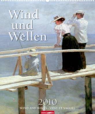 """Weingarten Kalender """"Wind und Wellen 2010"""", Cover"""