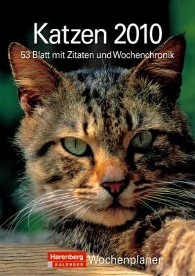 """Harenberg Wochenplaner """"Katzen 2010"""", Cover"""