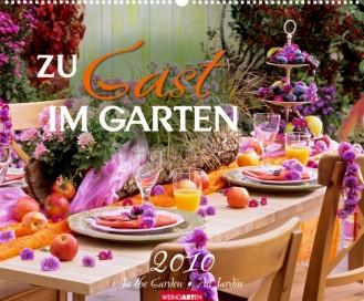"""Weingarten Kalender """"Zu Gast im Garten 2010"""", Cover"""